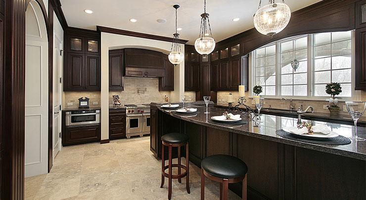 Irish Inspired Kitchen Design Granite Countertops In Maryland