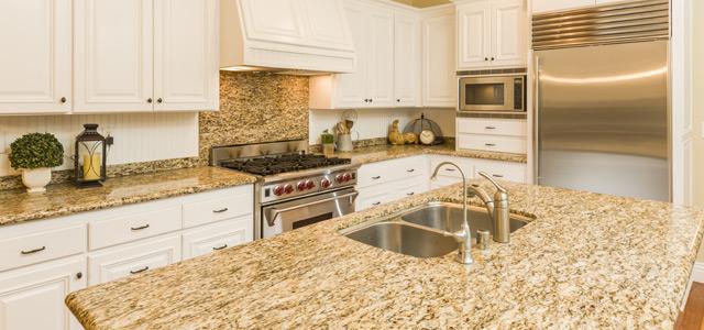Don't You Know Granite Slab Makes An Elegant Backsplash ... on Granite Countertops And Backsplash  id=40124
