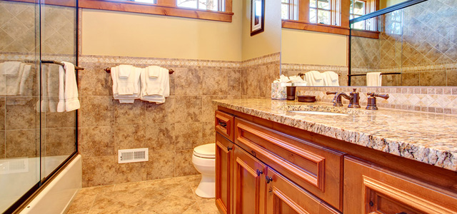 The Rock Hard Facts About Using Granite In Bathrooms And